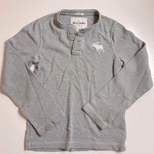 Abercrombie Kids Grey Long Sleeve Shirt